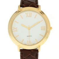UrbanOutfitters.com > UO Woven Leather Watch