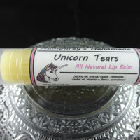UNICORN TEARS Lip Balm | Cherry Buttercream Flavor