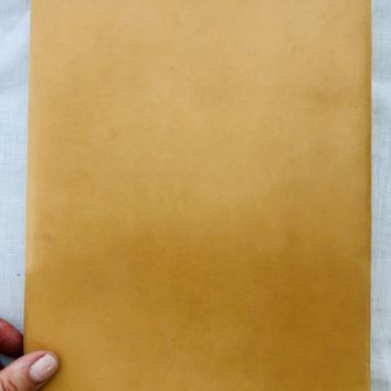 Leather Covered Journal - Natural