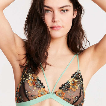 Out From Under Cameron Floral Triangle Bra - Urban Outfitters