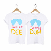 Tweedle Dee Tweedle Dum Best Friends T-Shirt