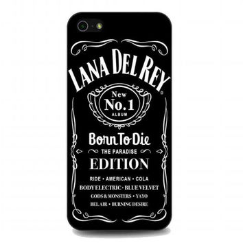 lana del rey jack daniels For iphone 5 and 5s case