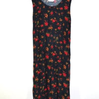 Floral Print Dress Maxi Dress Festival Dress Hippy Dress Boho Dress Floral Print Dresses Size 14