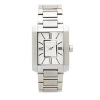 Vince Camuto Rectangular Silver Bracelet Watch For Women