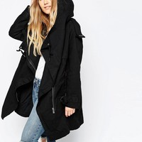 ASOS | ASOS Parka with Waterfall and Storm Flap at ASOS