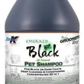 Groomers Edge Emerald Black Shampoo -  1 Gallon