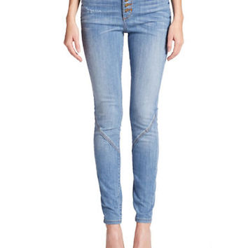 Guess Hi-Waisted Skinny Jeans
