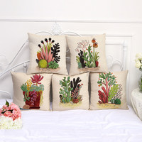 Plant Pillow Covers