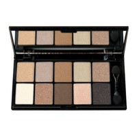 NYX Cosmetics Eye Shadow Palette 10 Color, Caviar and Bubbles, 0.49 Ounce