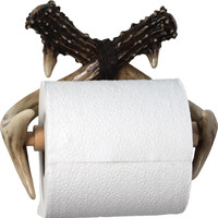 River's Edge Toilet Paper Holder - Antler