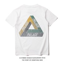 Casual Tops Cotton T-shirts [10351477831]