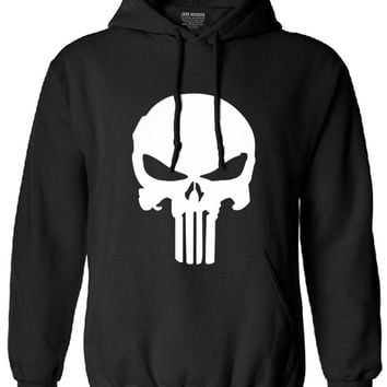 the punisher long sleeve hoodies men skull harajuku streetwear 2017 autumn brand homme clothing man tracksuit fleece hoodie mma