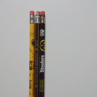 Vintage Pack of NFL Football Pittsburgh Steelers Pencils 1980s