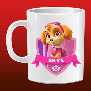 Skye Paw Patrol for Mug Design