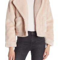 Bagatelle | Cropped Faux Shearling Jacket | Nordstrom Rack