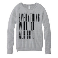Be Alright. - Grey Lightweight Sweater from After Hours Agenda