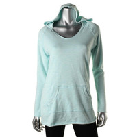 Calvin Klein Performance Womens Juniors French Terry Long Sleeves Hoodie