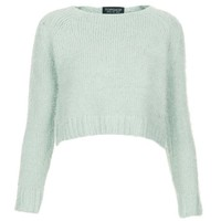 mint jumper cropped - Google Search