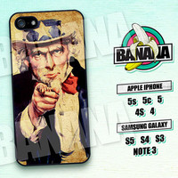 I Want You, Vintage ,Uncle Sam, iPhone 5 case, iPhone 5S case, iPhone 5c case, Phone case, iPhone 4 Case, iPhone 4S Case, Phone Skin, CPR01
