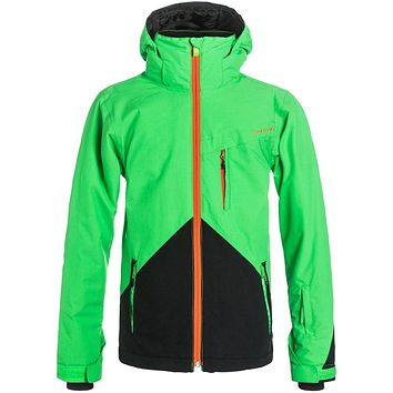 Quiksilver Mission Colorblock Boy's Snowboard Jacket