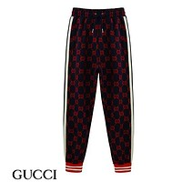 Gucci Women or Men Fashion Casual Loose Cardigan Jacket Coat  Pants Trousers Set Two-Piece