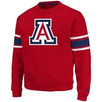 Arizona Wildcats Skyline Fleece Sweatshirt - Cardinal