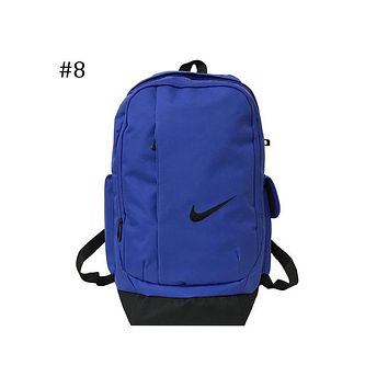 NIKE 2018 new men and women casual sports backpack large capacity backpack F-ZZZS #8