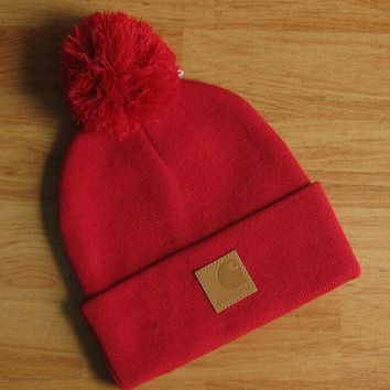 Perfect Carhartt Hip Hop Women Men Beanies Winter Knit Hat Cap