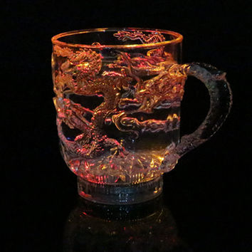 Cute Coffee Hot Deal On Sale Hot Sale Drinks LED Lightning Multi-color Noctilucent Cup [6258130438]