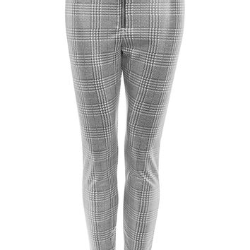 Prince of Wales Coated Treggings - New In Fashion - New In