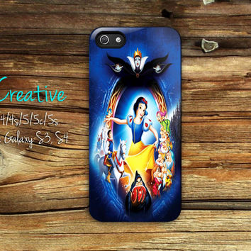 Snow White and the Seven Dwarfs iphone 4/4s/5/5c/5s case, Snow White and the Seven Dwarfs samsung galaxy s3/s4/s5, Snow White and the Seven Dwarfs samsung galaxy s3 mini/s4 mini, Snow White and the Seven Dwarfs samsung galaxy note 2/3
