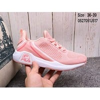 FILA 2018 summer men's and women's tide brand fashion breathable casual shoes F-A36H-MY Pink