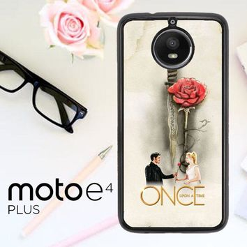 Once Upon A Time Rose X3423 Motorola Moto E4 Plus Case