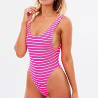 The Maxam | Stripe Bond-Eye One Piece