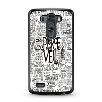Pierce The Veil Song Lyric LG G3 case