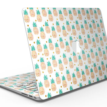 Tropical Summer Pineapple v1 - MacBook Air Skin Kit