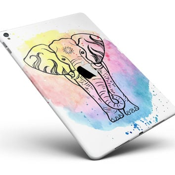 "Sacred Elephant Watercolor Full Body Skin for the iPad Pro (12.9"" or 9.7"" available)"