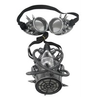 Gas Mask And Goggles