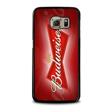 budweiser samsung galaxy s6 case cover  number 1