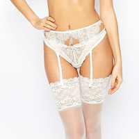Heidi Klum Intimates Bridal Valerie Lingerie Set at asos.com