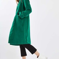 Hairy Slouch Coat - Jackets & Coats - Clothing