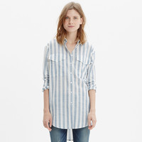 OVERSIZED BUTTON-DOWN SHIRT IN MAJOR STRIPE