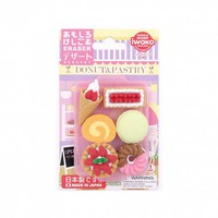 Iwako dessert erasers - set of 6 - NEW - Stationery - New for Winter