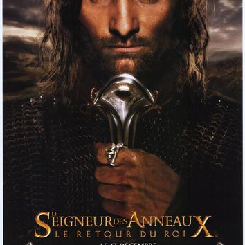 Lord of the Rings: The Return of the King (French) 11x17 Movie Poster (2003)
