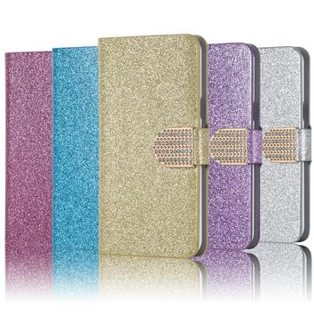 Dneilacc New Wallet Fashion Flip cell cover case For Oukitel K6000 Plus Bling Phone cases for Oukitel K6000 Plus