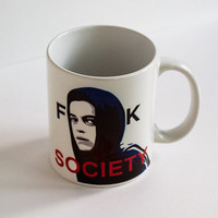 Mr Robot Fsociety Coffee Mug for Hackers