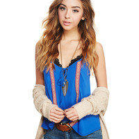 Go With The Boho Tank | Wet Seal