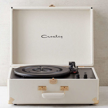 Crosley X UO AV Room White Portable USB Vinyl Record Player - Urban Outfitters