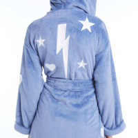 Thunderbolt Plush Robe - Wildfox