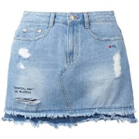 Steve J & Yoni P Denim Mini Skirt - Farfetch